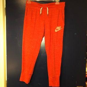Nike crop jogger pants